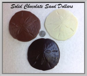 Chocolate Sand Dollars