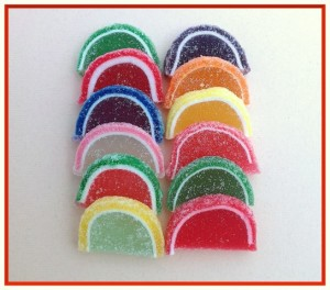 Old Fashion Fruit Slices